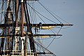 Flickr - Official U.S. Navy Imagery - Sailors assigned to USS Constitution prepare the sails..jpg