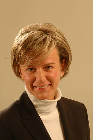 Linda Abu Meri - Image: Flickr Saeima 9.Saeimas deputāte Linda Mūrniece