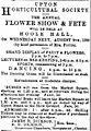 Flower show at Hoole Hall 1899.jpg