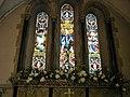 Flowers above the altar at St Faith's, Havant - geograph.org.uk - 863707.jpg
