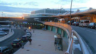 Lyon–Saint-Exupéry Airport - Terminal building
