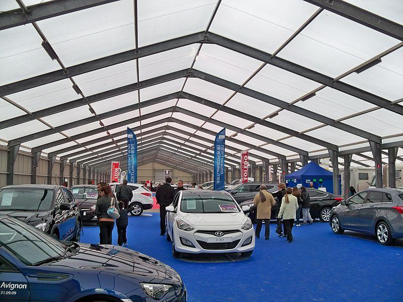 Foire d'Avignon: pavillon automobile