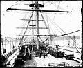 Foot drill, HMNS Vernon (18790732486).jpg