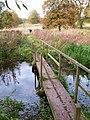 Footbridge on the Wolds Way - geograph.org.uk - 1564279.jpg