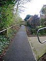 Footpath connecting Low to High Shincliffe - geograph.org.uk - 766203.jpg