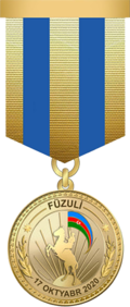 For the liberation of Fuzuli medal.png