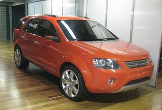 Ford Territory (Australia) - Ford R7 concept car exhibited at the former Ford Discovery Centre in Geelong, Australia