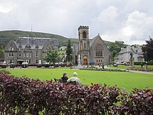 Fort William Parade and Duncansburgh MacIntosh Parish Church