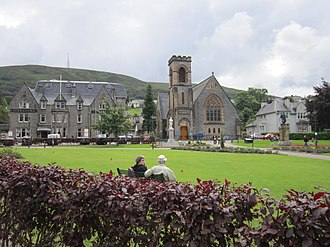Fort William, Highland - Fort William Parade and Duncansburgh MacIntosh Parish Church