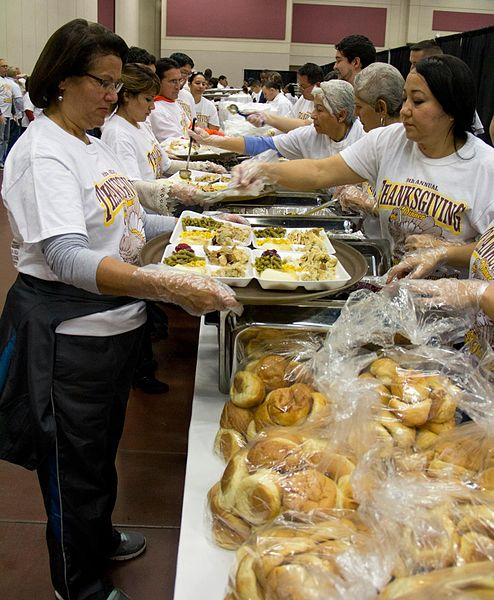 Annual Community Thanksgiving Kiwanis Hermosa Beach Ca