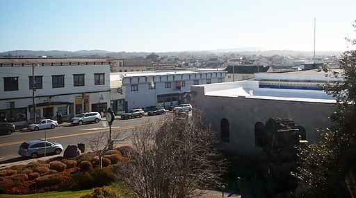 Fort Bragg CA Skyline SW