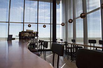 Fort McMurray International Airport - Passenger seating at Starbucks