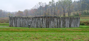 Fort Necessity National Battlefield - The reconstructed Fort Necessity.