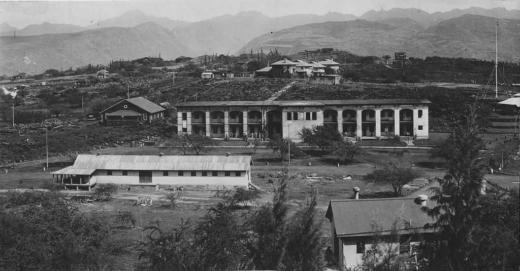 Fort Ruger, Kaimuki, Oahu, 1914 (PPWD-11-7-023)