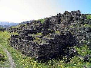 Edessa, Greece - Edessa's Hellenistic Wall
