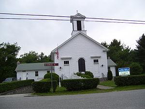 Foster Center, Rhode Island - Image: Foster Center Baptist Church