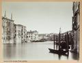 Fotografi av Canal Grande och Rialtobron i Venedig - Hallwylska museet - 103014.tif