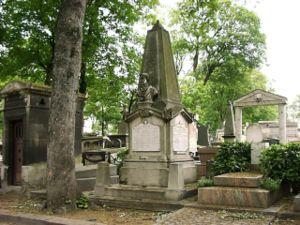 Léon Foucault - Grave of Jean Bernard Léon Foucault in Montmartre Cemetery