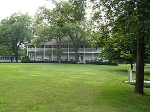 National Register of Historic Places listings in Jasper County, Indiana - Image: Fountain Park Chatauqua Indiana