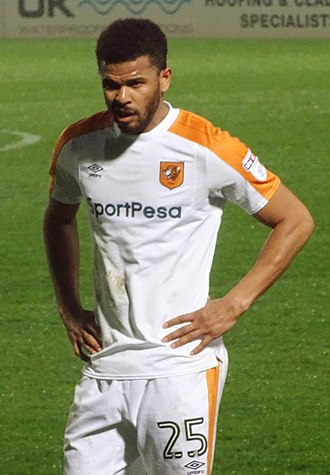 Fraizer Campbell - Campbell playing for Hull City in 2018