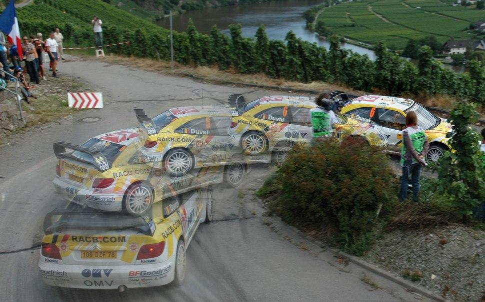 François Duval - 2007 Rallye Deutschland
