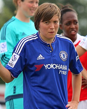 Fran Kirby - Kirby playing for Chelsea