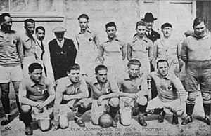 History of the France national football team - France at the 1924 Summer Olympics.