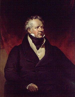 Francis Gore - George Theodore Berthon's Francis Gore