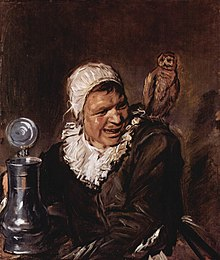 Франц Хальс. «Гарлемская ведьма» — хотя на картине изображён реальный человек, это уже не портрет, а жанровая картина
