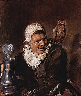 <i>Malle Babbe</i> Painting of a Haarlem woman by Frans Hals