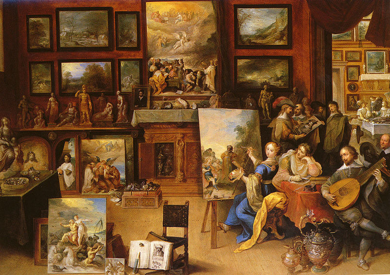 File:Frans II Francken Pictura, Poesis and Musica in a Pronkkamer.jpg