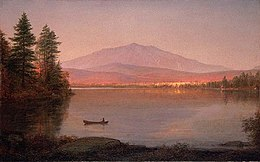 Katahdin mefta, male Millinocket Camp