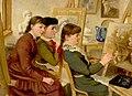 Frederic Martlett Bell-Smith-Three Artists, c. 1883.jpg