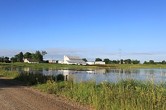 Freedom Township, Michigan - Image: Freedom Township Farm and Pond