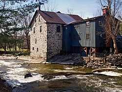 The Freligh Mill on Pike River