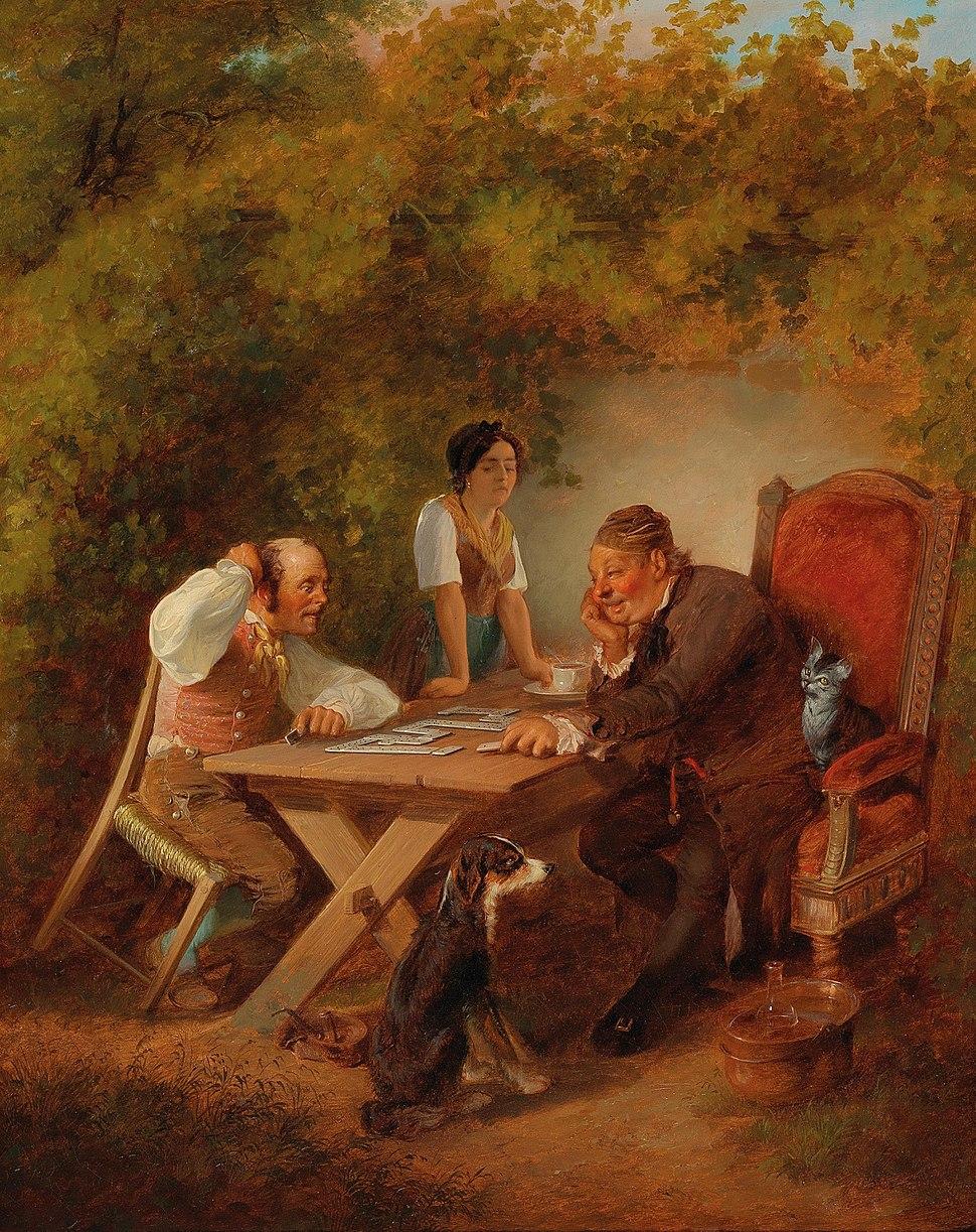 Friedrich Sturm - Domino Players