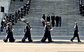 From left, on steps, first lady Michelle Obama; President Barack Obama; U.S. Army Maj. Gen. Michael S. Linnington, the commanding general of Joint Task Force-National Capital Region; Vice President Joseph Biden 130121-F-AV193-318.jpg