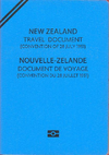 New Zealand Refugee Travel Document cover