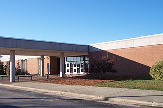 Southern Nash High School - Image: Front of bld