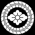 Fujiwa ni Hana-bishi inverted.jpg