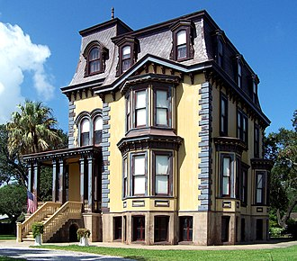 National Register of Historic Places listings in Aransas County, Texas - Image: Fulton mansion 2006