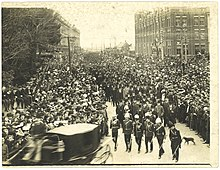 Funeral of Richard 'King Dick' Seddon, 21 June 1906