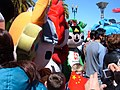 Fuwa at 2008 Olympic Torch Relay in SF 1.JPG