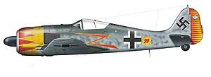 Hermann Graf - Image: Fw 190 A5 U7 Graf Wiki