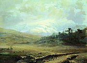 Fyodor Vasilyev Crimean Mountains in winter 11031.jpg