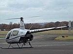 G-BYIE Robinson R22 Helicopter (32153885204).jpg