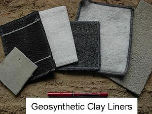 Geosynthetic clay liner - Image: GCLS1