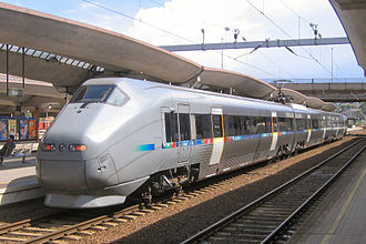 Gardermoen Line - A BM71 Airport Express Train ready for departure from Oslo S.