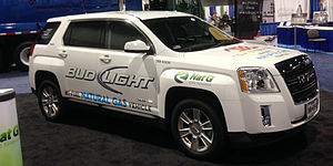GMC Terrain - Natural Gas GMC Terrain at the NGVA Show in Atlanta November, 2013