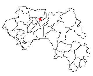 Koubia Prefecture Prefecture in Labé Region, Guinea